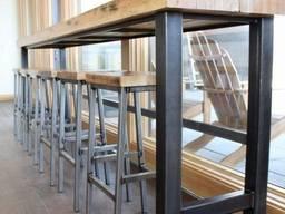 Комплект барних стіьців (4), і барний стіл на замовлення