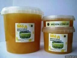 Мед цветочный мед разнотравье мед луговой мед цветочный