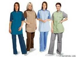 Медицинская одежда в ассортименте и под заказ