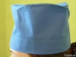 Медицинская шапочка. Ткань: батист