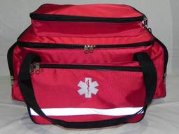 Медицинская сумка – укладка большая красная