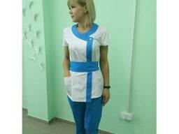 Медицинские (хирургические) халаты под заказ Днепр