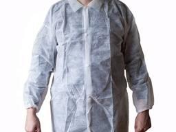 Медицинский халат одноразовая мед одежда одноразовый халат