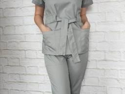 Медицинский костюм куртка и брюки
