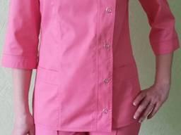 Медицинский костюм Мимоза. Ткань: элит коттон в наличии