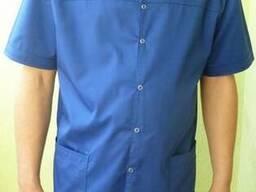 Медицинский костюм мужской, Ткань мед-твил (диагональ)