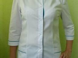 Медицинский костюм женский, брюки и куртка. Пошив для мед.