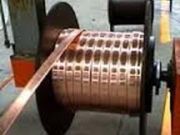 Медная шина 3х40 мм Медная мягка