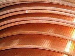 Медная полоса 90х80х325 квадрат медь М1 21, 4 кг купить цена