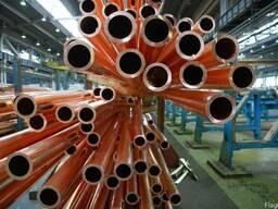 Медная труба М2 трубка медь опт и розница от 1 метра