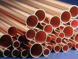 Труба медная М2 12x1,5мм L=3000мм, трубка медная, труба цена