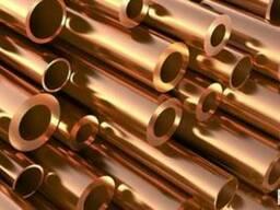 Трубы медные для систем водопровода и отопления 35х1, 5