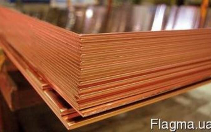 Лист бронзовый 6,0 мм - 0,29х1,08м