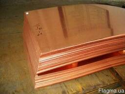Медный лист: мягкий, полу-твердый и твердый М1, М2