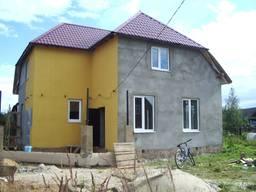 Механизированная Покраска Фасада Домов Дач Таунхаусов