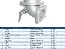 """Механический донный клапан 3"""" с фильтром из нерж. стали"""