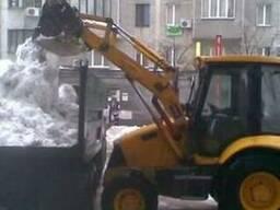 Механизированная уборка территорий от снега киев