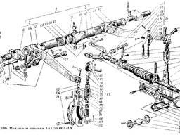 Вилка с пружинами в сборе 150.56.036 к тракторам Т-150К, ХТЗ