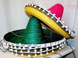 Сомбреро и пончо для мексиканской вечеринки