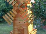 Мельница декоративная, млин - фото 3