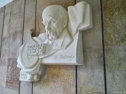 Мемориальные доски, скульптура