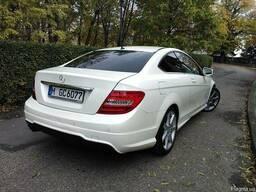 Mercedes-Benz C63 W204 рестайлинг Разборка Крышка багажника
