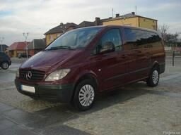 Mercedes Vito 638/639. Детали ходовой