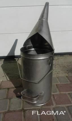 Мерный цилиндр (ведро) для нефтепродуктов 10л. Мерник с ручкой для ГСМ