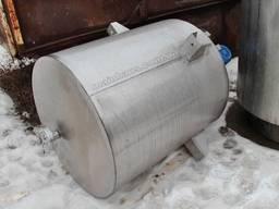 Мешалка рамная емкость из нержавейки 630л. миксер смеситель