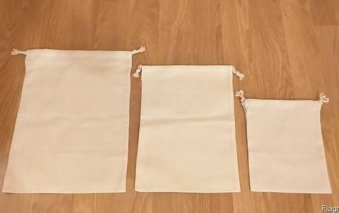 Мешки и мешочки тканевые со шнурком