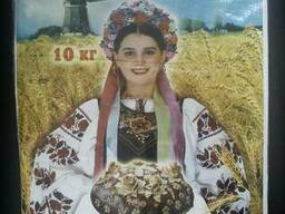 "Мешки п/п 40х55 с логотипом ""Борошно"""