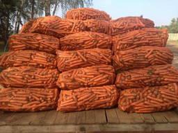 Мешок-сетка для фасовки моркови