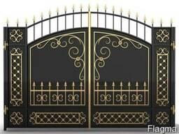 Металические ворота