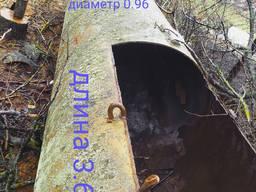 Металлическая цистерна б/у