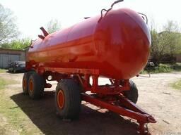 Металлическая цистерна для воды МЖТ-16