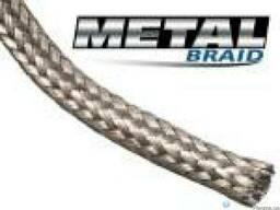 Металлическая круглая кабельная оплетка из луженой меди