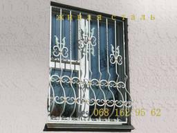 Металлические решётки на окна, балконные ограждения