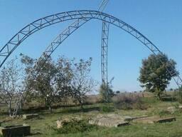 Металлические фермы: расчет и сварка ферм из профильной труб