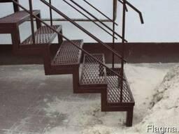 Металлические и деревянные лестницы. Изготовление и установка - фото 3
