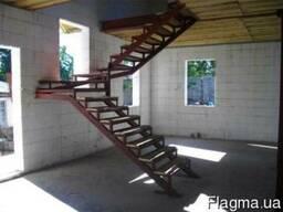 Металлические и деревянные лестницы. Изготовление и установка - фото 4