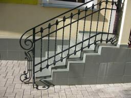 Лестницы, перила - ковка, сварка металл в Виннице