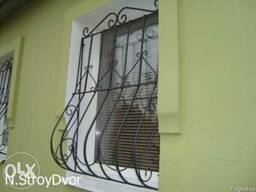 Металлические решетки на окна - фото 3
