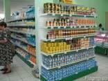 Металлические стеллажи для продуктовых магазинов - фото 3