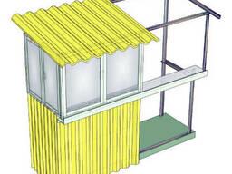 Металлический балкон – постройка, пристройка балконов