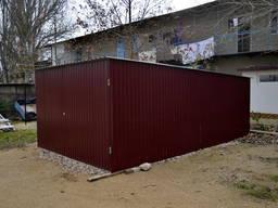 Металлический гараж лёгкий и бюджетный в Симферополе и Крыму