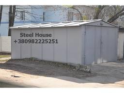 Металлический разборной гараж