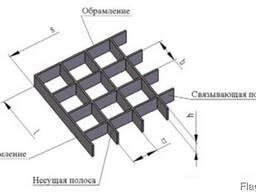 Металлический решетчатый настил - фото 5
