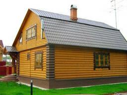 Строительство из Деревянного Блок Хауса