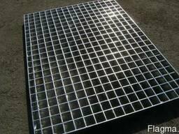 Металлический сварной решетчатый настил купить не дорого