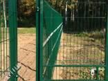 Металлический забор из сварной сетки, паркан 150х300см - фото 2